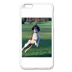 English Springer Catching Ball Apple iPhone 6 Plus/6S Plus Enamel White Case