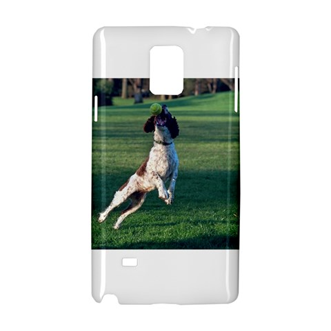 English Springer Catching Ball Samsung Galaxy Note 4 Hardshell Case