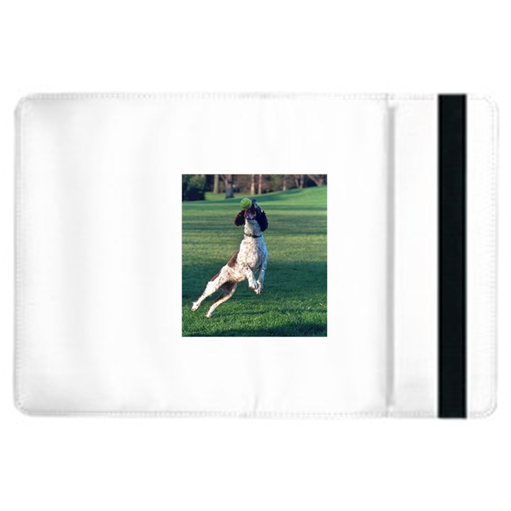 English Springer Catching Ball iPad Air 2 Flip