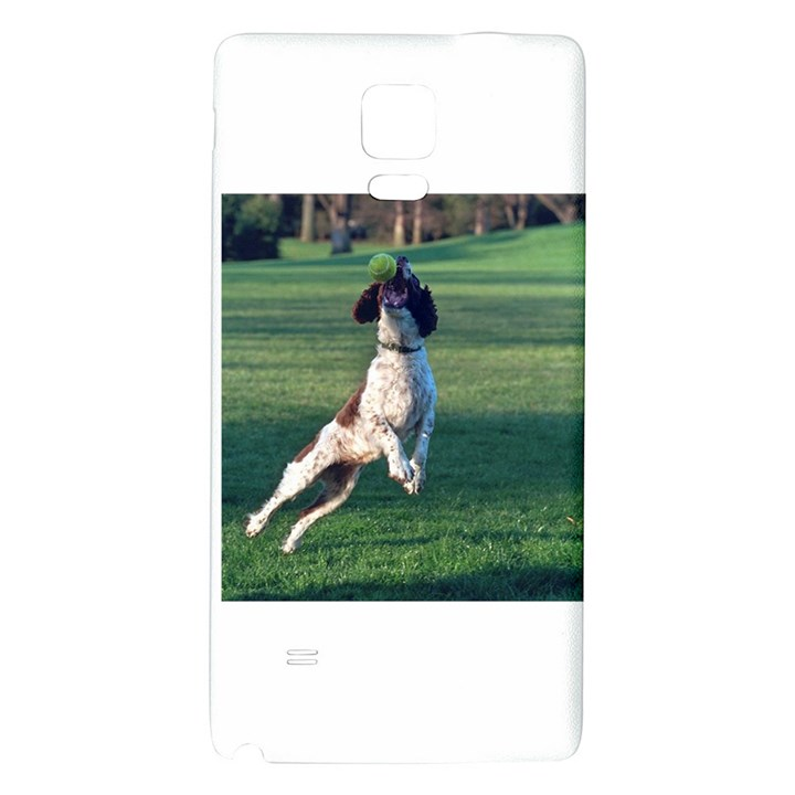 English Springer Catching Ball Galaxy Note 4 Back Case