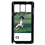 English Springer Catching Ball Samsung Galaxy Note 4 Case (Black) Front