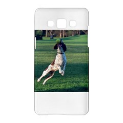 English Springer Catching Ball Samsung Galaxy A5 Hardshell Case