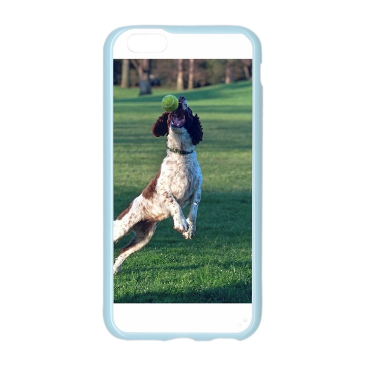English Springer Catching Ball Apple Seamless iPhone 6/6S Case (Color)