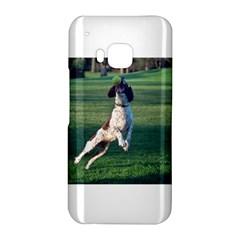 English Springer Catching Ball HTC One M9 Hardshell Case