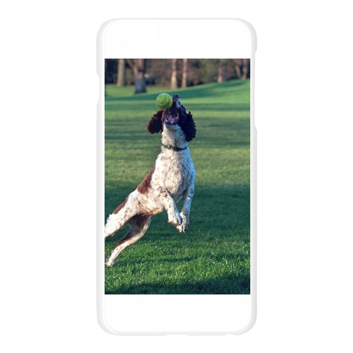 English Springer Catching Ball Apple Seamless iPhone 6 Plus/6S Plus Case (Transparent)