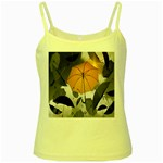 Umbrella Yellow Black White Yellow Spaghetti Tank Front