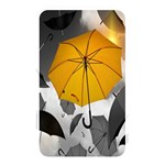Umbrella Yellow Black White Memory Card Reader Front