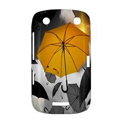 Umbrella Yellow Black White BlackBerry Curve 9380