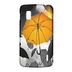 Umbrella Yellow Black White LG Nexus 4