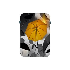 Umbrella Yellow Black White Apple iPad Mini Protective Soft Cases