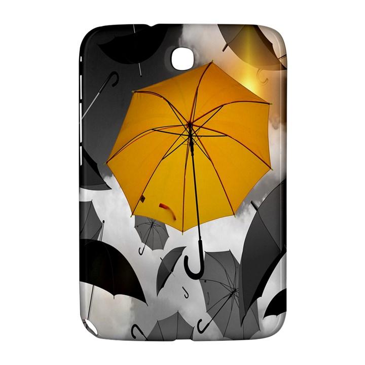 Umbrella Yellow Black White Samsung Galaxy Note 8.0 N5100 Hardshell Case