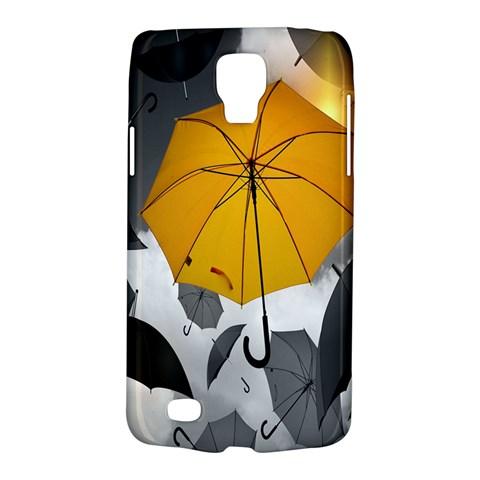 Umbrella Yellow Black White Galaxy S4 Active