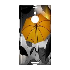 Umbrella Yellow Black White Nokia Lumia 1520