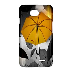 Umbrella Yellow Black White LG Optimus L70