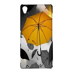 Umbrella Yellow Black White Sony Xperia Z3