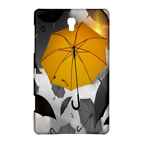 Umbrella Yellow Black White Samsung Galaxy Tab S (8.4 ) Hardshell Case