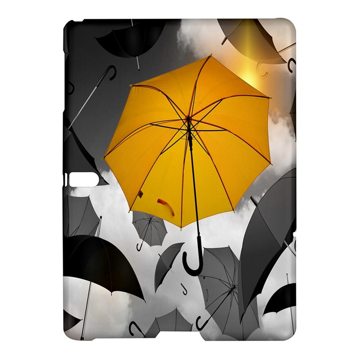Umbrella Yellow Black White Samsung Galaxy Tab S (10.5 ) Hardshell Case