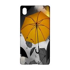 Umbrella Yellow Black White Sony Xperia Z3+