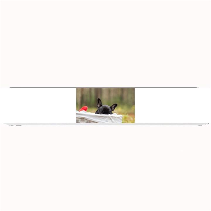 French Bulldog Peeking Puppy Small Bar Mats