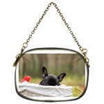 French Bulldog Peeking Puppy Chain Purses (One Side)  Front