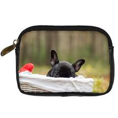 French Bulldog Peeking Puppy Digital Camera Cases