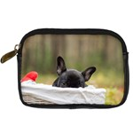 French Bulldog Peeking Puppy Digital Camera Cases Front
