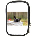 French Bulldog Peeking Puppy Compact Camera Cases Front