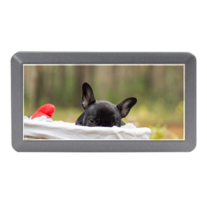 French Bulldog Peeking Puppy Memory Card Reader (Mini)