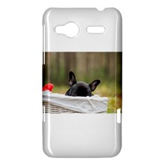 French Bulldog Peeking Puppy HTC Radar Hardshell Case