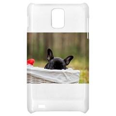 French Bulldog Peeking Puppy Samsung Infuse 4G Hardshell Case