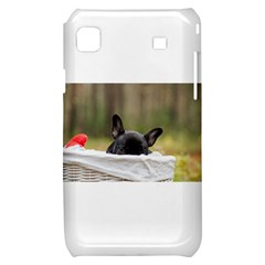 French Bulldog Peeking Puppy Samsung Galaxy S i9000 Hardshell Case
