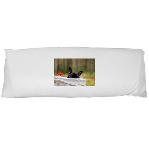 French Bulldog Peeking Puppy Body Pillow Case (Dakimakura)