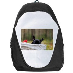 French Bulldog Peeking Puppy Backpack Bag