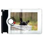 French Bulldog Peeking Puppy Apple iPad 2 Flip 360 Case Front