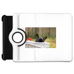 French Bulldog Peeking Puppy Kindle Fire HD Flip 360 Case