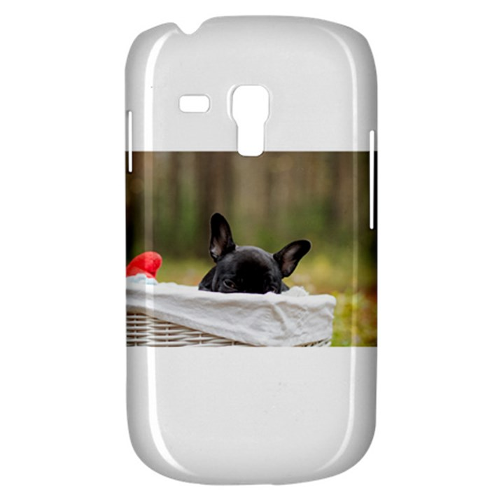 French Bulldog Peeking Puppy Samsung Galaxy S3 MINI I8190 Hardshell Case