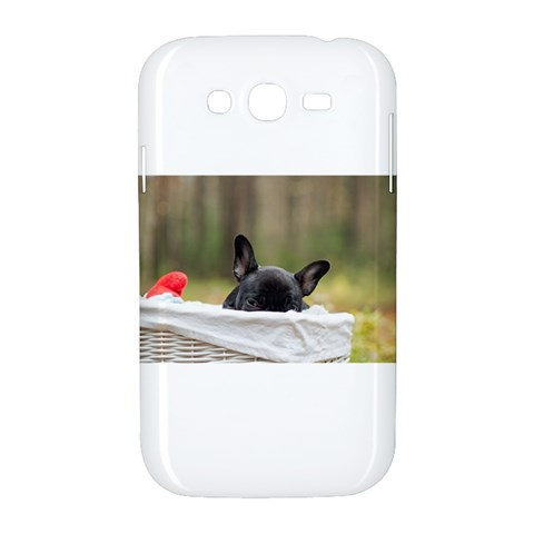 French Bulldog Peeking Puppy Samsung Galaxy Grand DUOS I9082 Hardshell Case