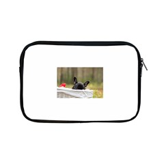 French Bulldog Peeking Puppy Apple iPad Mini Zipper Cases