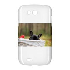 French Bulldog Peeking Puppy Samsung Galaxy Grand GT-I9128 Hardshell Case
