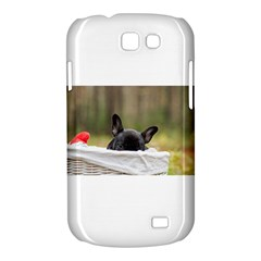 French Bulldog Peeking Puppy Samsung Galaxy Express I8730 Hardshell Case