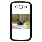 French Bulldog Peeking Puppy Samsung Galaxy Grand DUOS I9082 Case (Black) Front