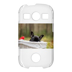 French Bulldog Peeking Puppy Samsung Galaxy S7710 Xcover 2 Hardshell Case
