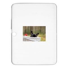 French Bulldog Peeking Puppy Samsung Galaxy Tab 3 (10.1 ) P5200 Hardshell Case