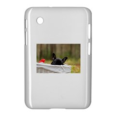 French Bulldog Peeking Puppy Samsung Galaxy Tab 2 (7 ) P3100 Hardshell Case