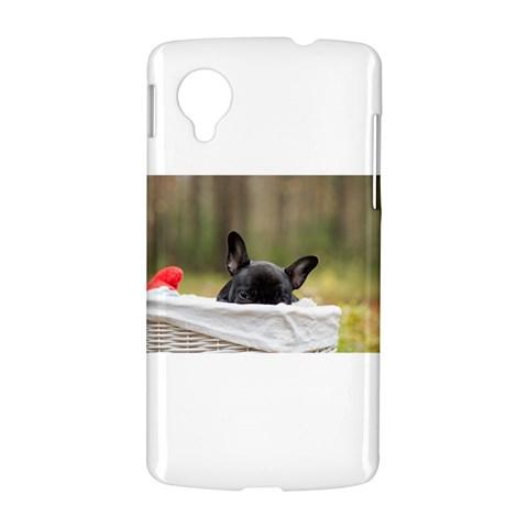 French Bulldog Peeking Puppy LG Nexus 5
