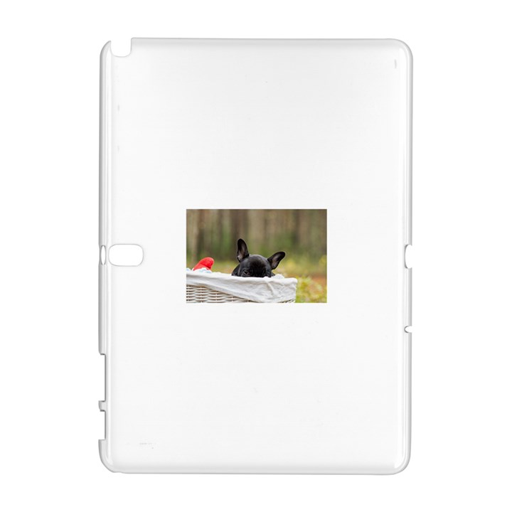 French Bulldog Peeking Puppy Samsung Galaxy Note 10.1 (P600) Hardshell Case