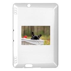 French Bulldog Peeking Puppy Kindle Fire HDX Hardshell Case