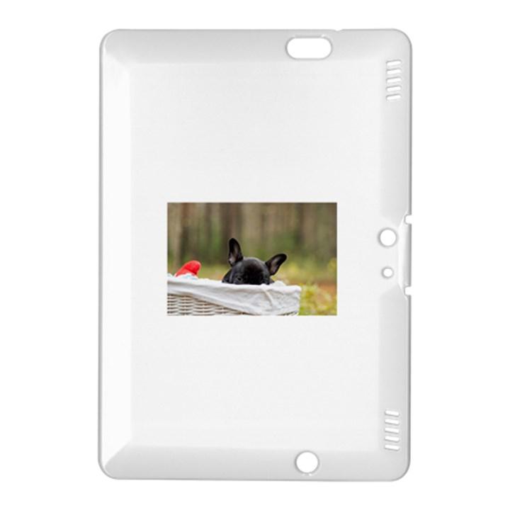French Bulldog Peeking Puppy Kindle Fire HDX 8.9  Hardshell Case
