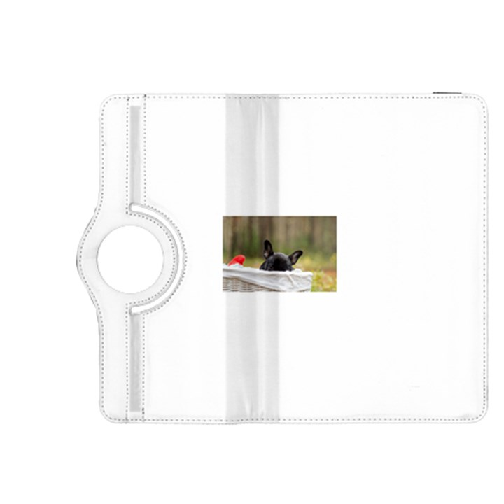 French Bulldog Peeking Puppy Kindle Fire HDX 8.9  Flip 360 Case