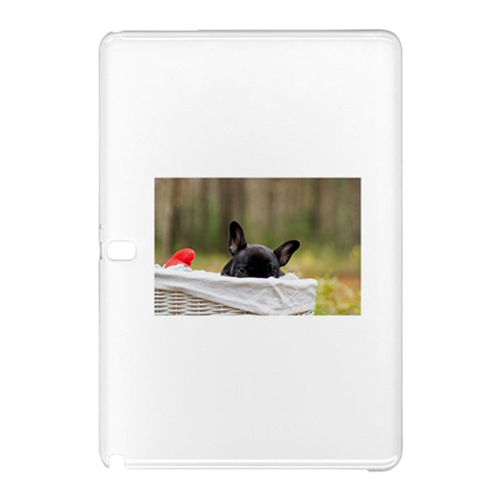French Bulldog Peeking Puppy Samsung Galaxy Tab Pro 10.1 Hardshell Case
